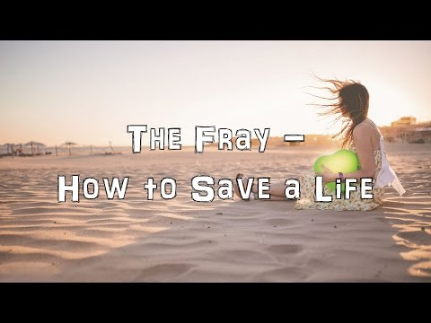 The Fray - How to Save a Life [Acoustic Cover.Lyrics.Karaoke]