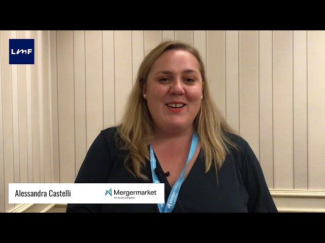 L'attività di M&A in Italia - Alessandra Castelli (Mergermarket)