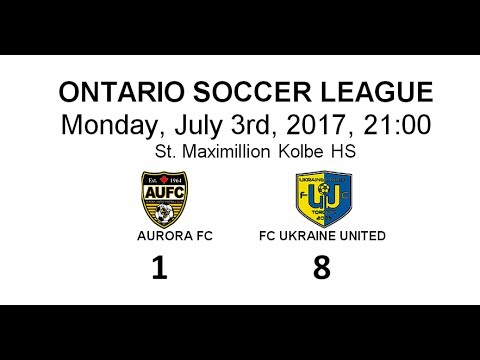 AURORA FC - FC UKRAINE UNITED    1 : 8. Goals