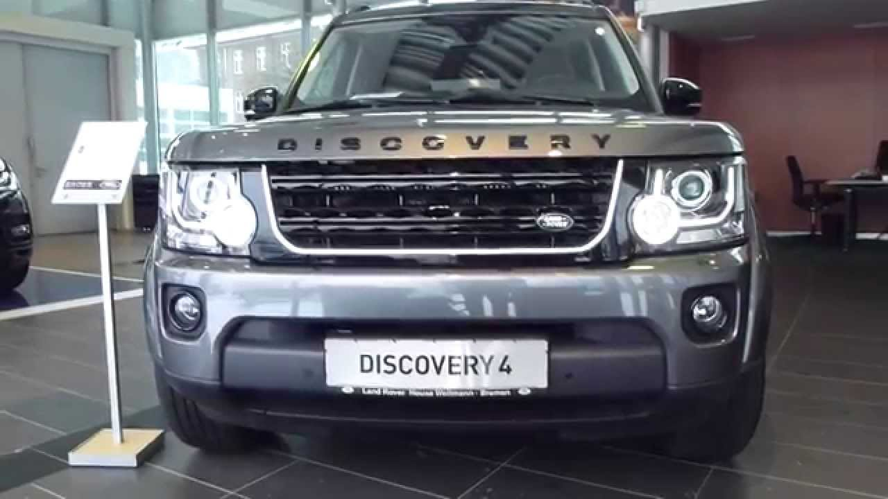 New Land Rover Discovery 2015 Interior - YouTube