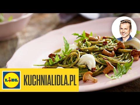 Pełnoziarniste Spaghetti Z Pesto Z Rukoli Karol Okrasa Przepisy Kuchni Lidla