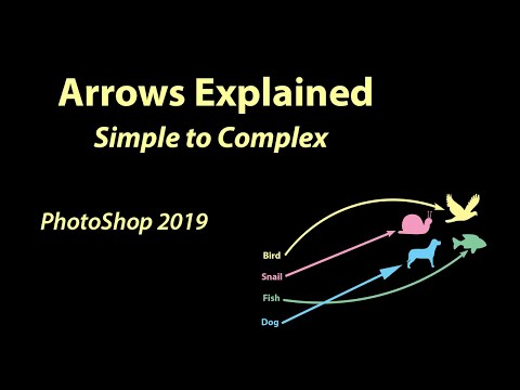 PhotoShop 2019 Arrows