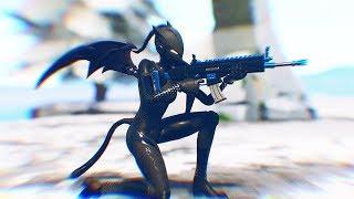 Unlocking Black Lynx & Ice King Glider! Ft. DanCutStudios - Fortnite Battle Royale