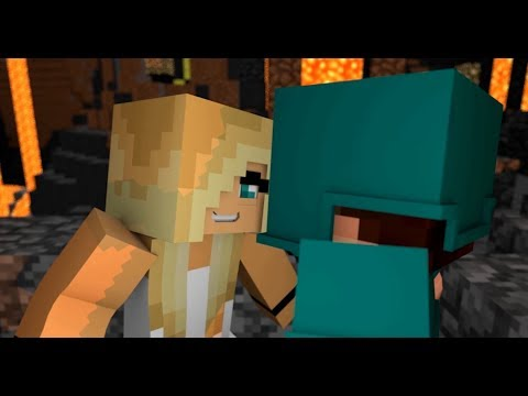 Minecraft song /Psycho Girl 1-16 Minecraft Videos and Song Compilation!