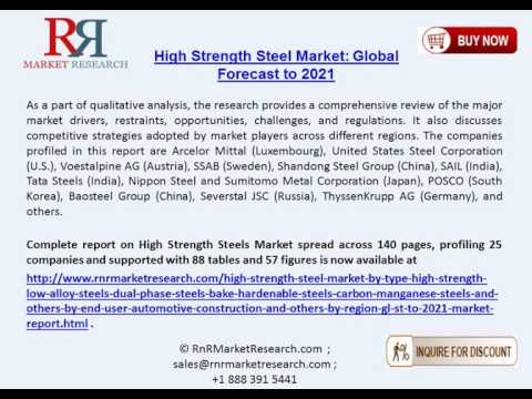 High Strength Steel Market: Global Forecast to 2021