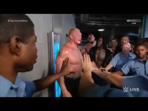Brock lesnar Arrested By Police WWE Raw 20.7.2015