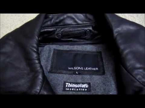 Wilson Leather lamb hipster Mens Leather Jacket with thinsulate Review