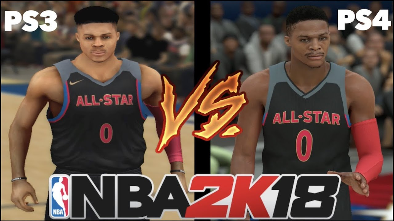 nba 2k18 ps3 vs ps4 comparison review youtube. Black Bedroom Furniture Sets. Home Design Ideas