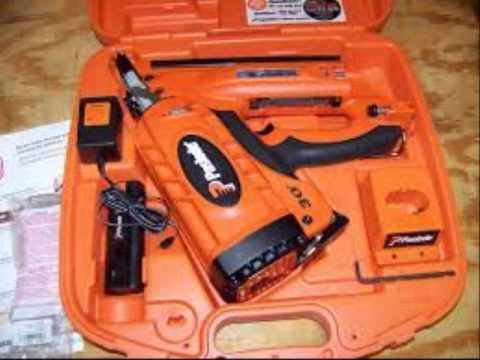Paslode Cordless Roofing Nailer