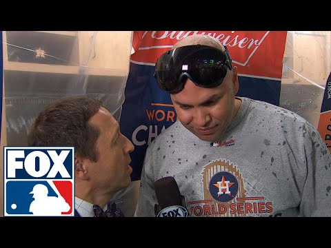 Carlos Beltran on winning World Series: 'Only took me 20 years' | 2017 MLB Playoffs | FOX MLB