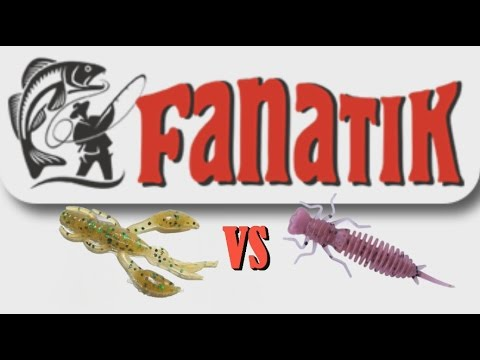 Fanatik : Рак против Стрекозы (Raider VS Larva)