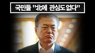 '文'당황, 여론조사 결과 국민들 북한 포기....