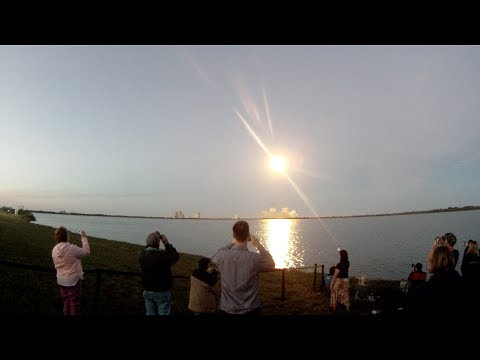 SpaceX: Falcon 9 launch 12/3/13 SES-8 Satellite