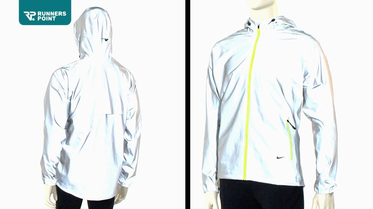 Herren Laufjacke Nike Flash Jacket - YouTube ccd5562a023a4