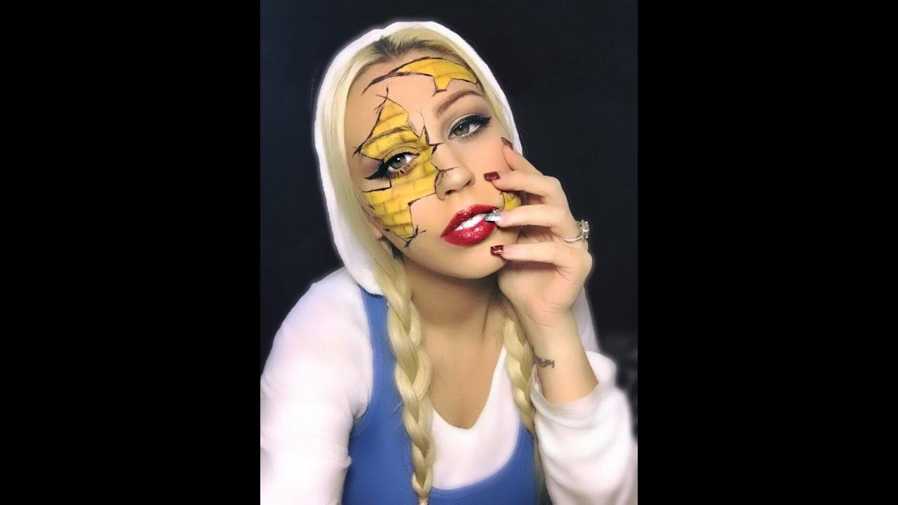 Wizard Of Oz; Dorothy Halloween Makeup