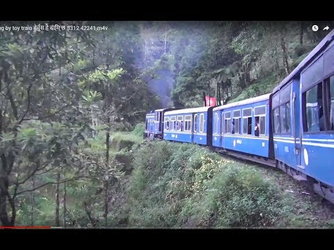 Kurseong to Darjeeling by toy train ..feel the real tour