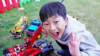 Car Toy with Power Wheels Excavator Dump Truck Toys Activity