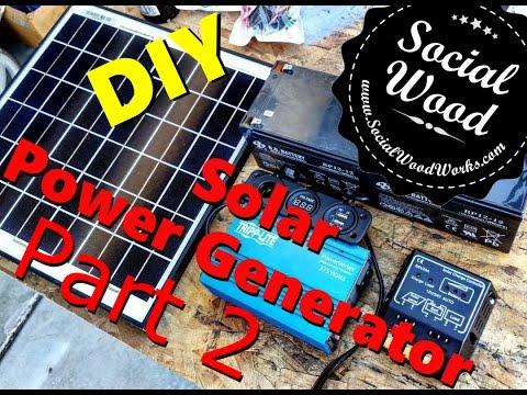 DIY Solar Power Generator – Part 2