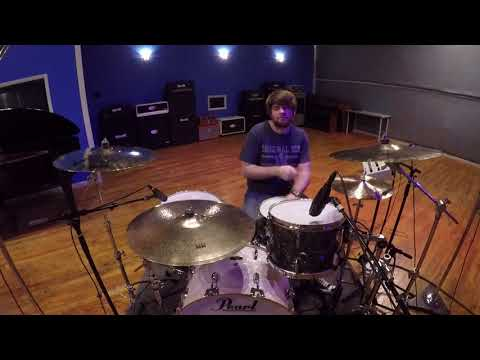 "Jason Hartless Drum Session - ""'Light Up This Town"" - Max Ater"