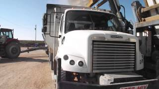 Freightliner w/Roto-Mix feedbox 2012 selling on Big Iron online auction