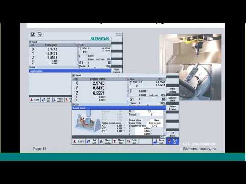 5 axis 3+2 G code Programming with ProgramGuide – SINUMERIK 840D Sl