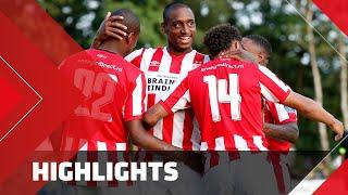 Samenvatting PSV - Aris Saloniki (vriendschappelijke wedstrijd Eredivisie)