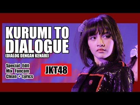 [Clean + Lirik] JKT48 - Kurumi to Dialogue @ Team J
