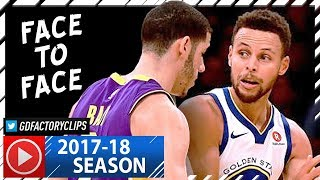 Lonzo Ball vs Stephen Curry First EVER Duel Highlights 20171129 Warriors vs Lakers - INTENSE