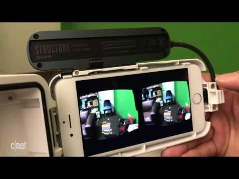 جهاز الواقع الافتراضي والمعزز مع جهاز الايفون The Virtual and augmented reality headset
