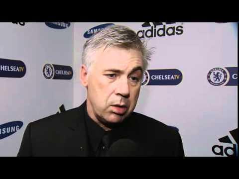 Chelsea FC - Ancelotti on Blackburn