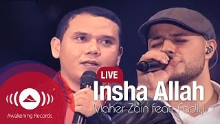 "Download Maher Zain feat. Fadly ""Padi"" - Insha Allah (Live) Mp3"