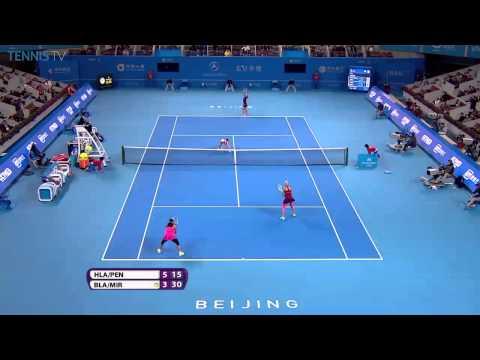 Beijing 2014 final - Hlavackova/Peng vs. Black/Mirza highlights