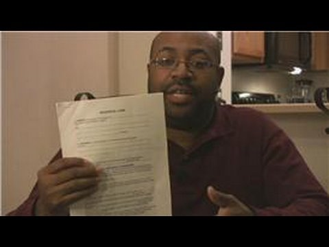 Rental Property Advice : How to Type a Lease Agreement