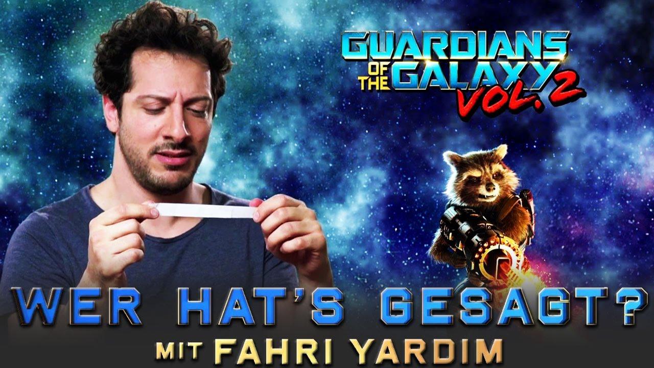 Guardians Of The Galaxy Vol 2 Wer Hat S Gesagt Mit Fahri Yardim Marvel Hd