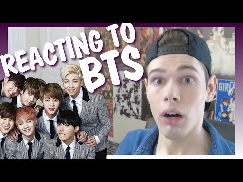 Reacting to BTS I Dylan Jacob