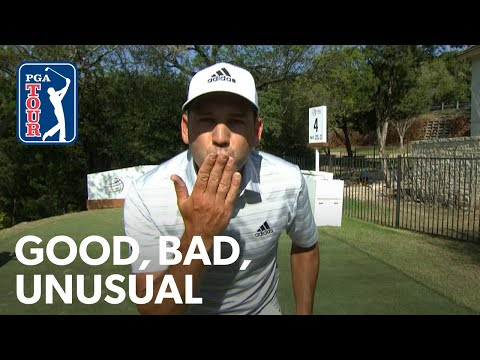 Sergio & Fleetwood trade aces, DeChambeau drives it backward and Spieth nearly hits Cantlay