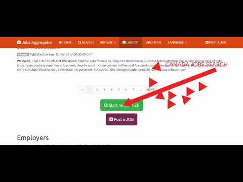 Jobs Aggregator - Jobs - Canada