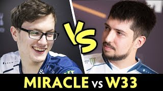 MIRACLE vs w33 — ex-Liquid back to practicing