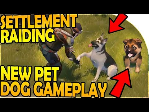 NEW PET DOG GAMEPLAY - RAIDING A SETTLEMENT - Last Day On Earth Survival 1.7.6 Update