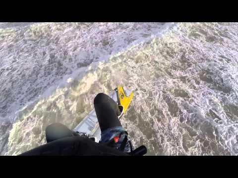 IJmuiden 35 knots - lovely kitesurf day!