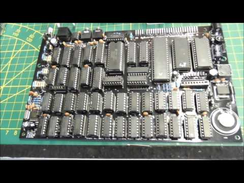 Harlequin ZX Spectrum clone DIY assembly time-lapse video