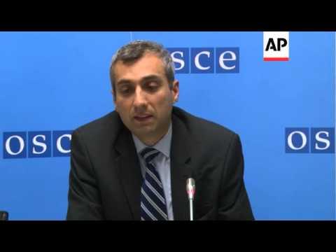 OSCE news conference on Ukraine