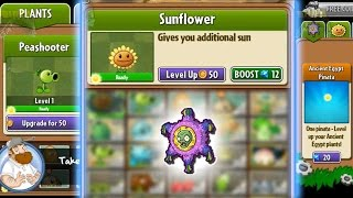 Plants vs Zombies 2 - Plants Level Upgrade Tutorial (Unfinished) Video