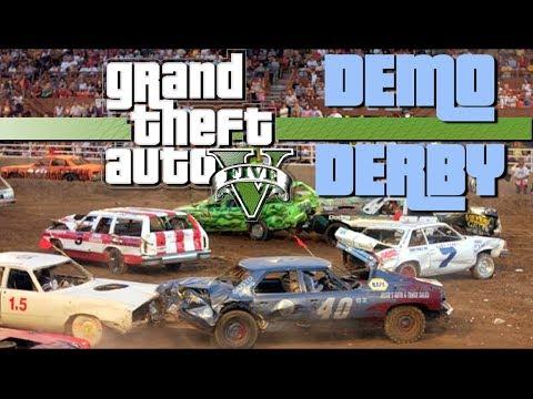 Demolition Derby - GTA For Pimps - (Ep 10)