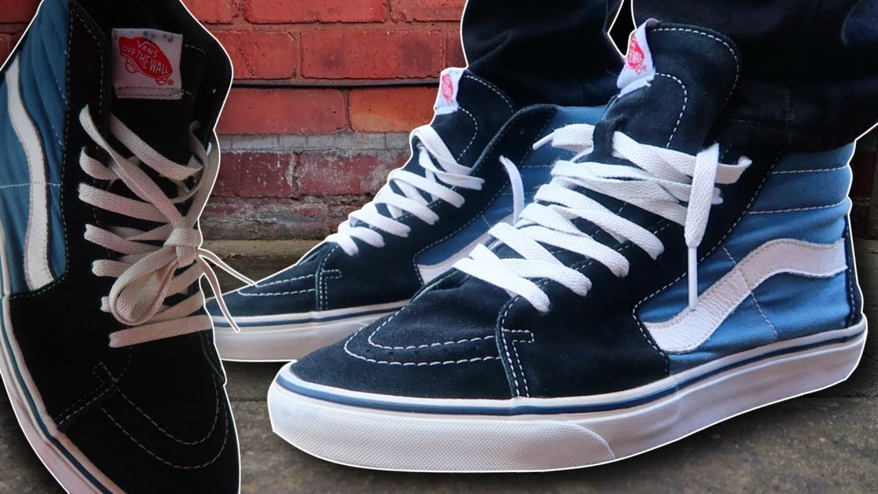 Vans Sk8 Hi | Pick up & On Feet!