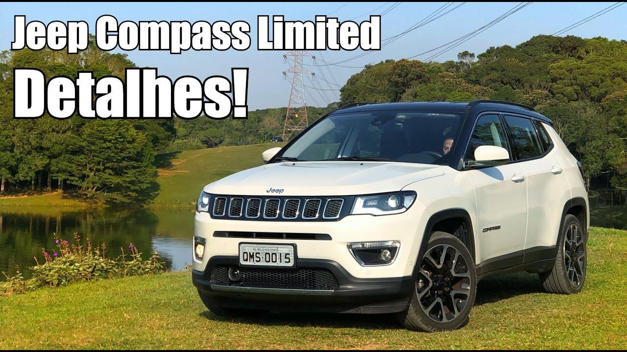 Jeep Compass Limited 2018 em detalhes - Falando de Carro ...