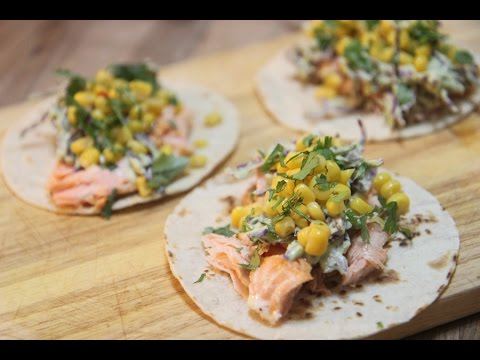 Roasted Salmon Tacos - Cooked By Julie Episode 289