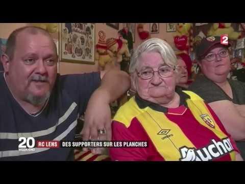 """Reportage du JT de France 2 dedié à """"Stadium"""",  la pièce de théâtre sur les supporters du RC Lens."""