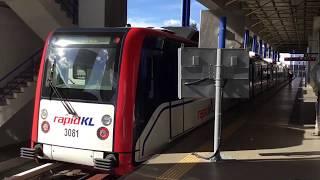 2020.1.4(土)16:43 クアラルンプールのLRTアンパン線(路線番号3番)【東の終点アンパン駅】