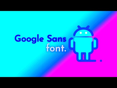 Google sans font ( Third party font ) on any xiaomi devices No need to Root